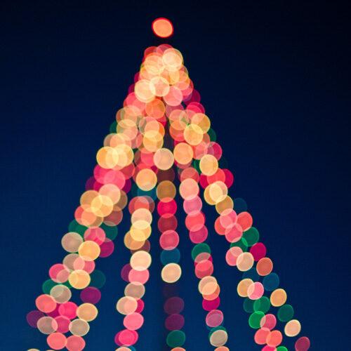 Tree-Shape-Lights-Square